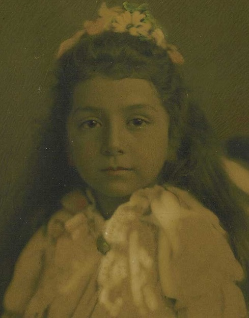 Leonard's wife, Sarah, nee Moses, as a child