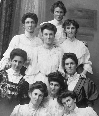 The nine daughters of Constantine and Edith Zohrab